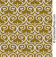 Curl seamless pattern, background for your design, full scalable vector graphic, change the colors as you like. Illustration includes a high resolution JPEG.