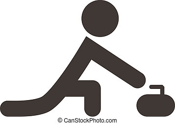 curling, ícone