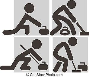 Curling icons - Curling icon