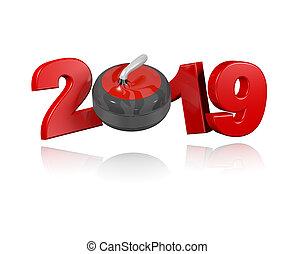 Curling Stone 2019 Design