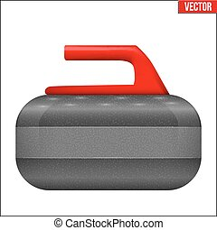 Curling stone equipment