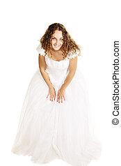 Curly bride