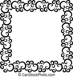 pattern frame