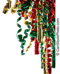 Curly Ribbon - Curly ribbon in Christmas colors