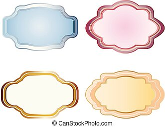 curly vector frames