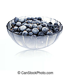 Currants in a bowl - Frozen currants