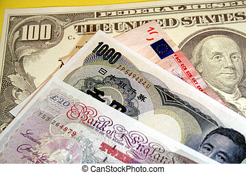 Currencies - Various currencies
