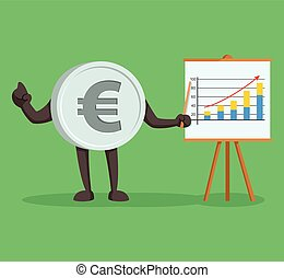 currency character euro giving presentation