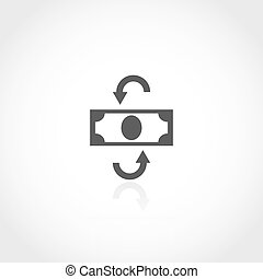 Currency conversion icon