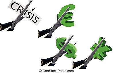 currency cut dollar euro yen crisis