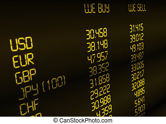 Currency Exchange Rate - Foreign Currency Exchange Rate on...