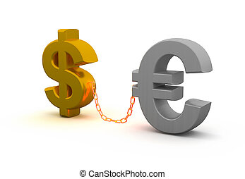 Currency - Image generated in 3D application.