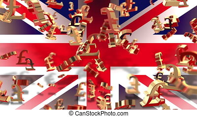 Currency - pound - Flag - Animation about Money - currency...