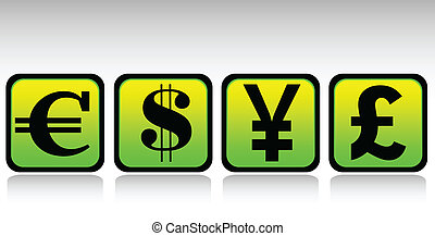 currency set icon