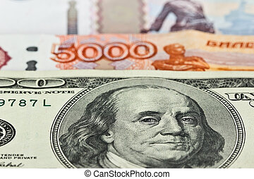 Currency: US dollars and Russian rubles