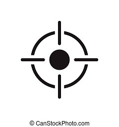 current glyph flat icon