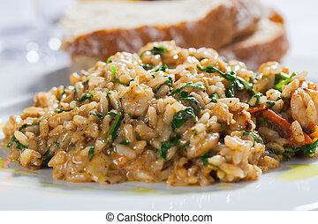 curry, arroz