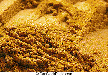 Curry Powder Food Background