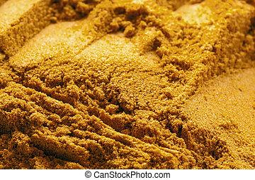 currypulver, speise hintergrund