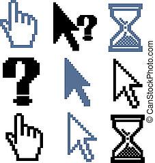 curseur, signes