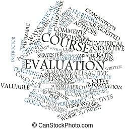 curso, evaluación