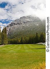 curso, golfe