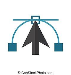 Cursor and vector symbol