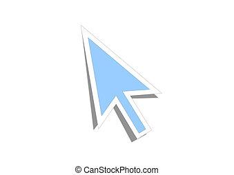 cursor, flecha