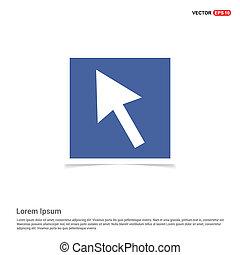 Cursor Icon - Blue photo Frame