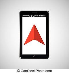 cursor mobile phone navigation