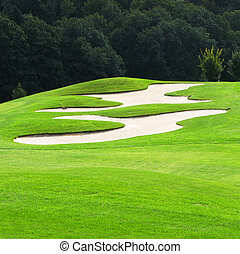 cursus, golf