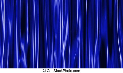 curtain blue