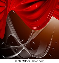 curtain - classic 3d curtain