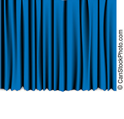 Curtain from the theatre - background with place for your text