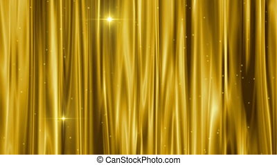 curtain gold very beautiful composition