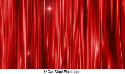 curtain red very beautiful composition