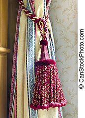 curtain tassel for interior decoration