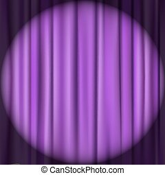 curtain theater background