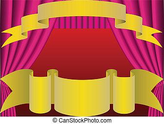 Curtain.