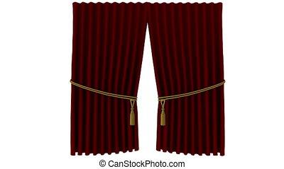 curtain - opening curtain