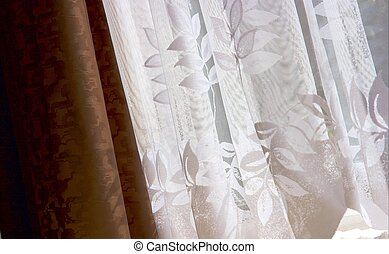 Curtains - Different types of curtains in a room