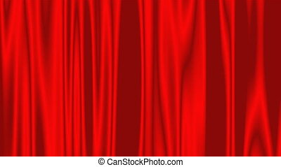Curtains for stage, theater , 3d rendering modern illustration, computer generated backdrop