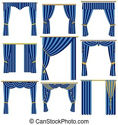 Curtains set.