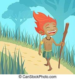 Curupira, guardian of forests - legend of the brazilian ...