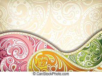 curva, abstratos