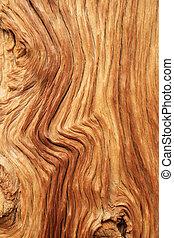 curvado, grão madeira