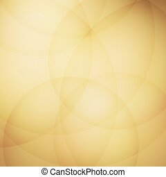 Curve element with yellow background