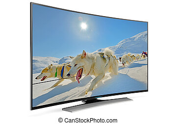 curve smart tv - new type of curved smart tv