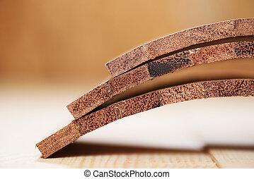 Curver merbau wood boards for handmade drum