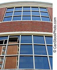 Curves and Reflections - Architectural detail and...